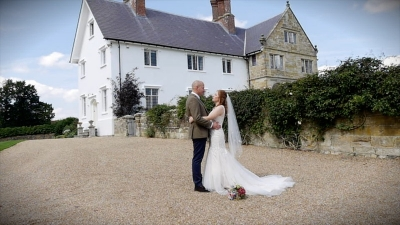 Amy and Keaten at Hendall Manor Barns