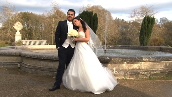 Carly and Sonny at Ashridge House