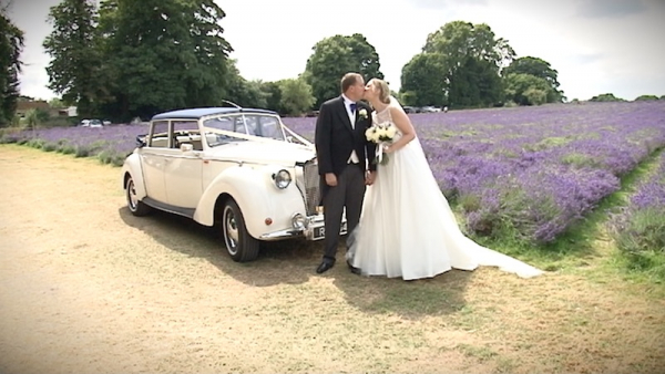 Caroline and Alastair at Nonsuch Mansion