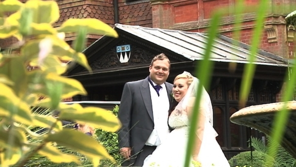 Danielle & Paul at Stanhill Court Hotel