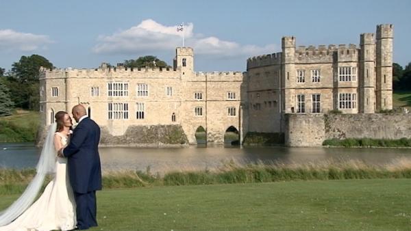 Don and Tina at Leeds Castle