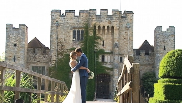 Eddie and Matthew at Hever Castle