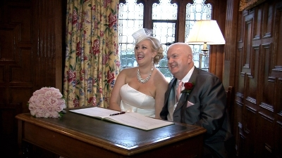 Faye and Kevin at Hever Castle