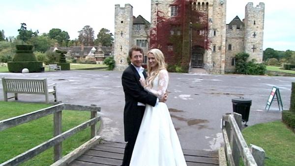 Francesca and Derek at Hever Castle