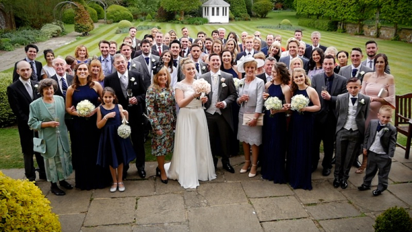 Gabriella and Karl at Horsted Place Country House