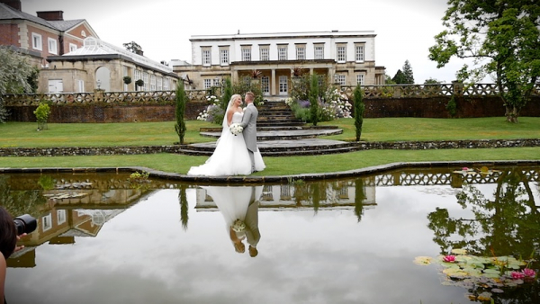Grace and Edward at Buxted Park Hotel