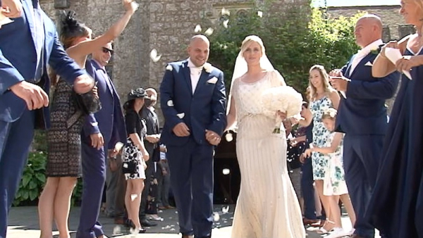 Hailey and Ryan at Lympne Castle