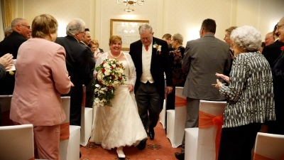 Heather and Nigel at The Grand Hotel Eastbourne
