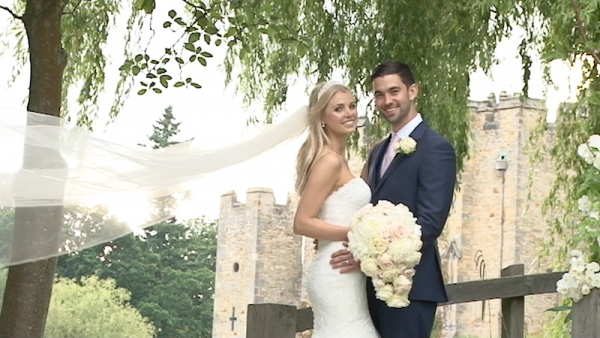 Jasmin and Jamie at Hever Castle