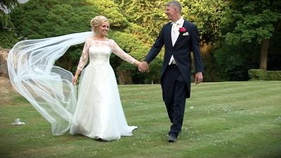 Jenny and David at Rowhill Grange Hotel