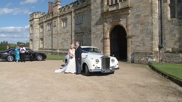 Juliette and Jame's at Penshurst Place