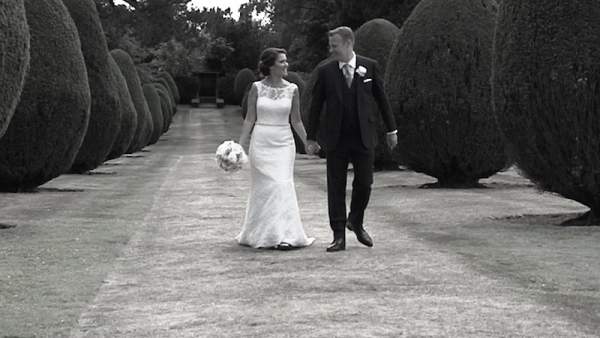 Karen and Andy at The Elvetham Hotel