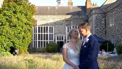 Michele and David at Hall Place and Gardens