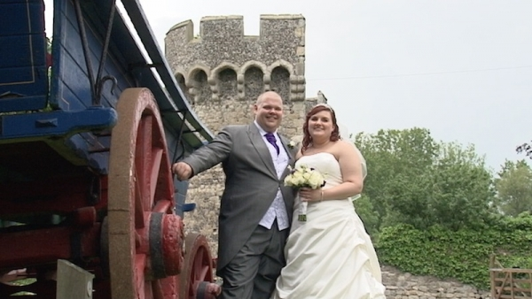 Michelle and Paul at Cooling Castle