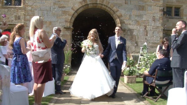 Nicola and Paul at Penshurst Place