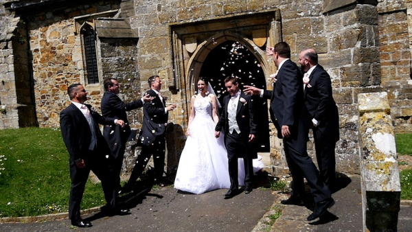 Sarah and Chris at Buxted Park Hotel