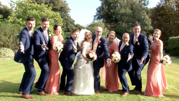Sarah and Steven at Horsted Place