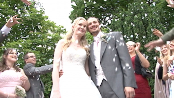 Steph and Chris at the Rowhill Grange Hotel
