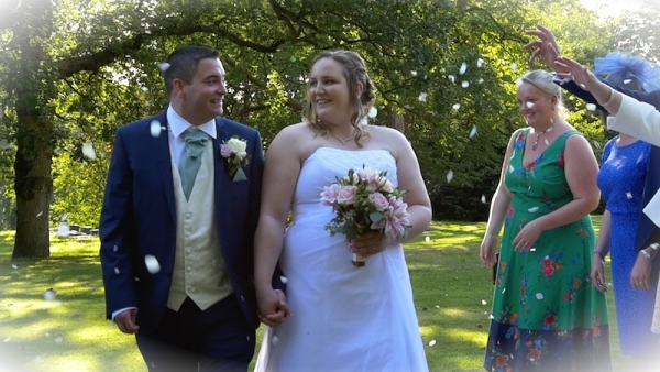Claire and Dan at Stanhill Court Hotel