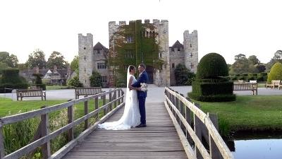 Gemma & Daren at Hever Castle