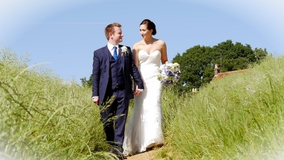 Harriet and Joe at Fitzleroi Barn