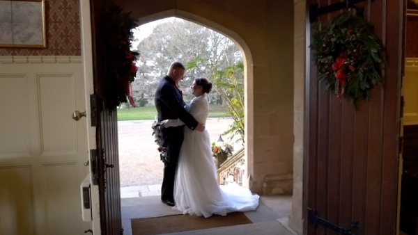 Helen and James at Horsted Place