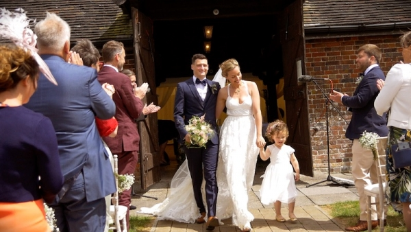 Ian & Georgie at Laughton Barns