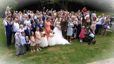 Kerry and Lee at Rowhill Grange Hotel