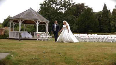 Rayleigh and Billy at Rowhill Grange Hotel