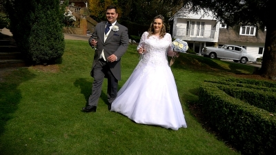 Victoria and Christopher at Rowhill Grange